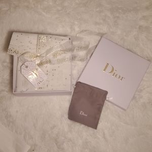 Dior decor box & pouch
